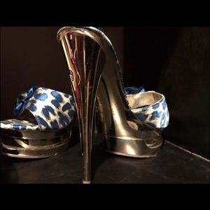 Shoes - Italina Stiletto Heels only worn once